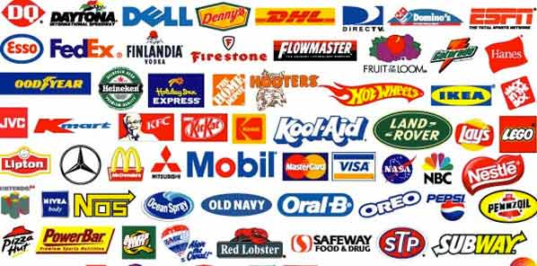 brand marks collage