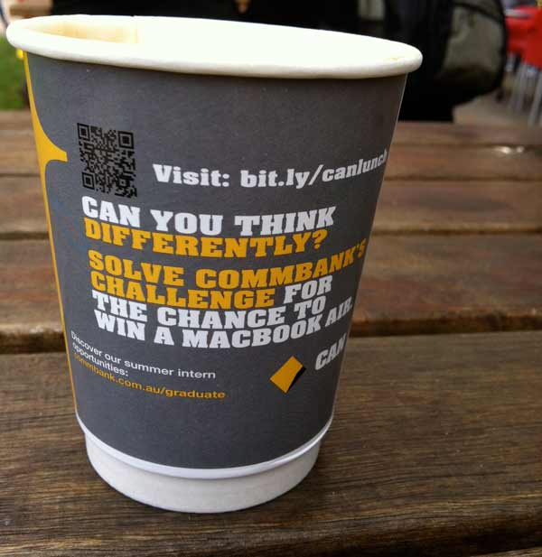 Comm Bank Coffee Campaign