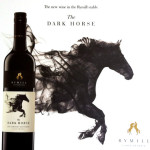 Rymill Dark horse wine label