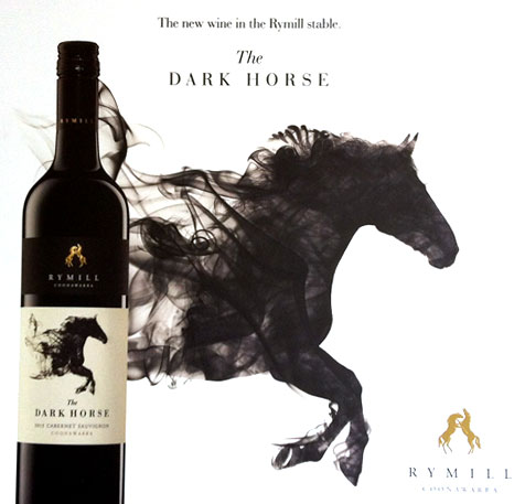 Rymill Dark horse wine label