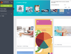 Canva screenshot