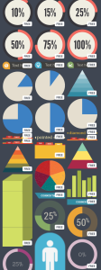 infographic elements in canva