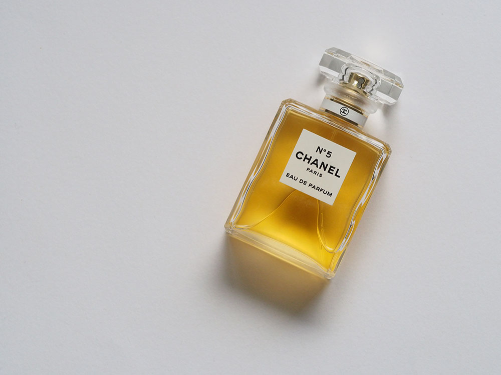 bottle of chanel no 5