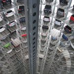 carpark in China