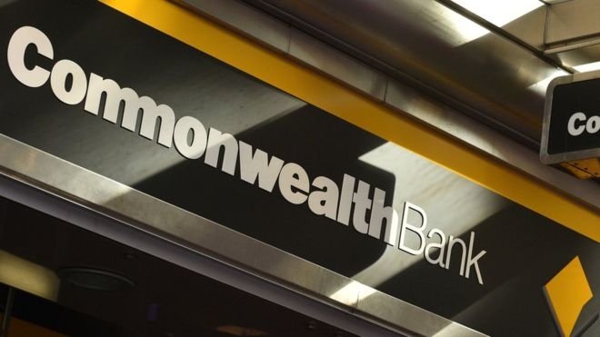 Commonwealth Bank signage