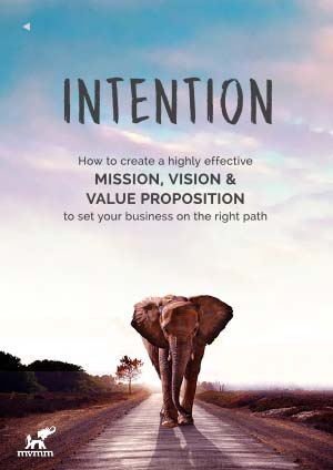 cover art for Intention eBook