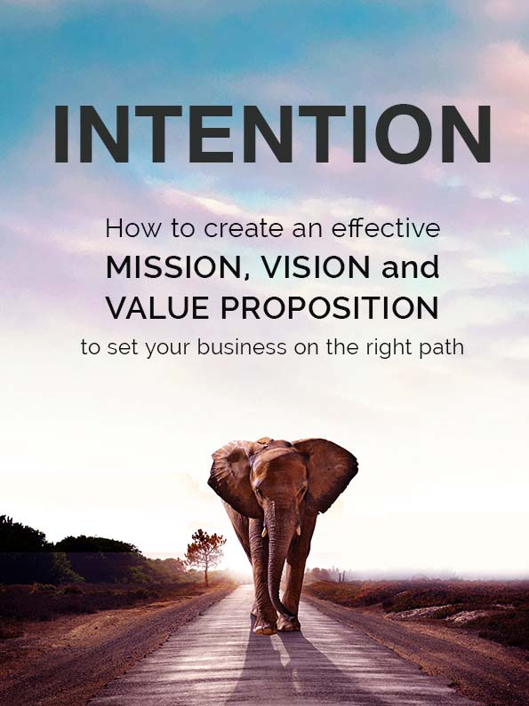 Intention ebook cover