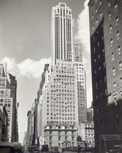 Archival photo of Madison Avenue, New York